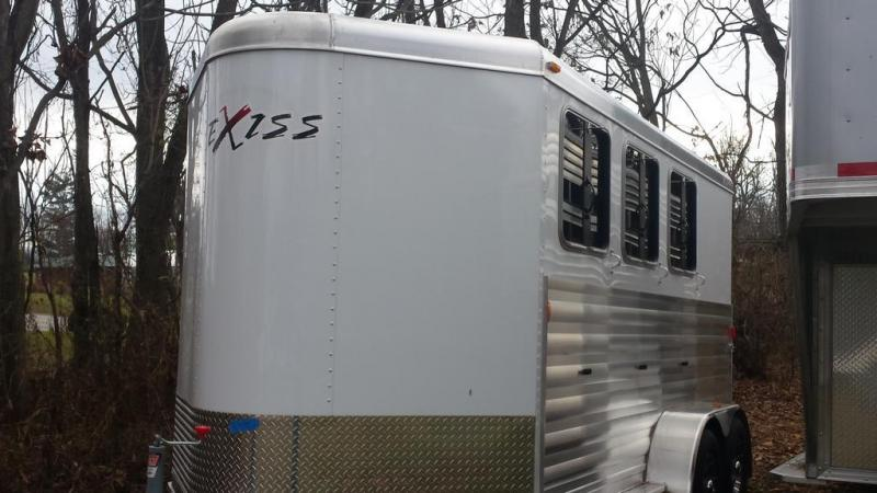 Year end blowout - Save $4400.00 - 2016 Exiss Express XT Edition 3 Horse BP Horse Trailer