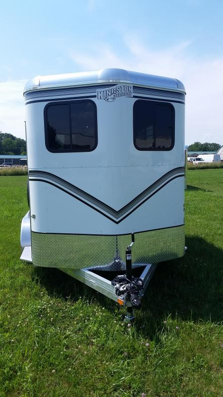 2017 Kingston Trailers Inc. Classic Elite 2 Horse Horse Trailer