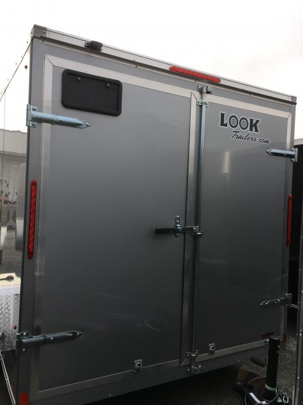 2017 Look Trailers 7x12 Element SE Enclosed Cargo Trailer