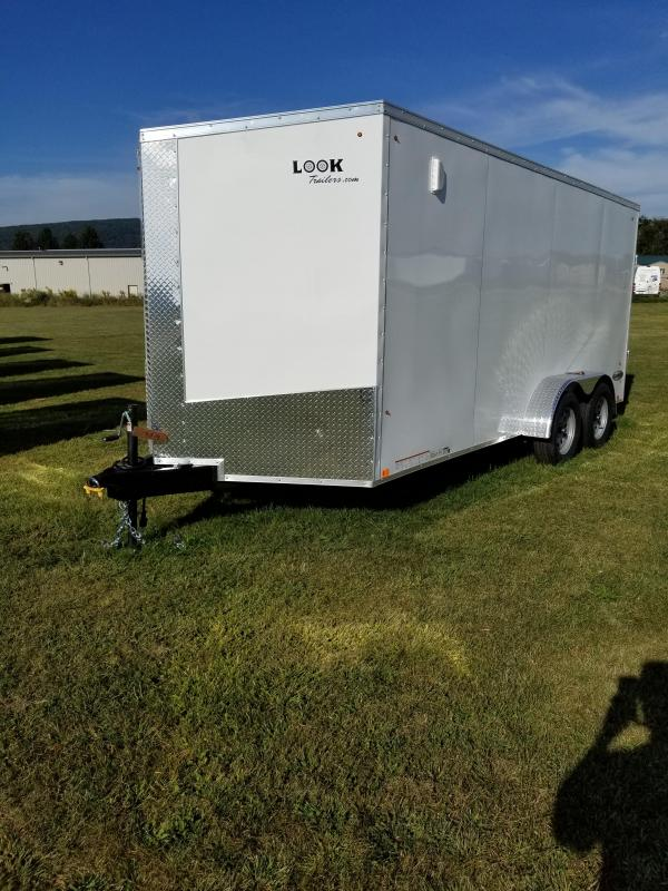 2018 Look Trailers 7x16 Element SE Enclosed Cargo Trailer