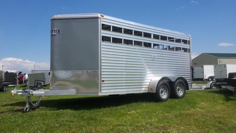 2016 Frontier Aluminum Trailers 16 Livestock Series Horse Trailer