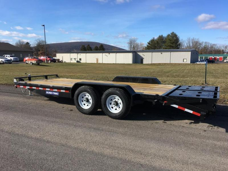 2017 Sure-Trac 7x20 Super Ramp Equipment Trailer
