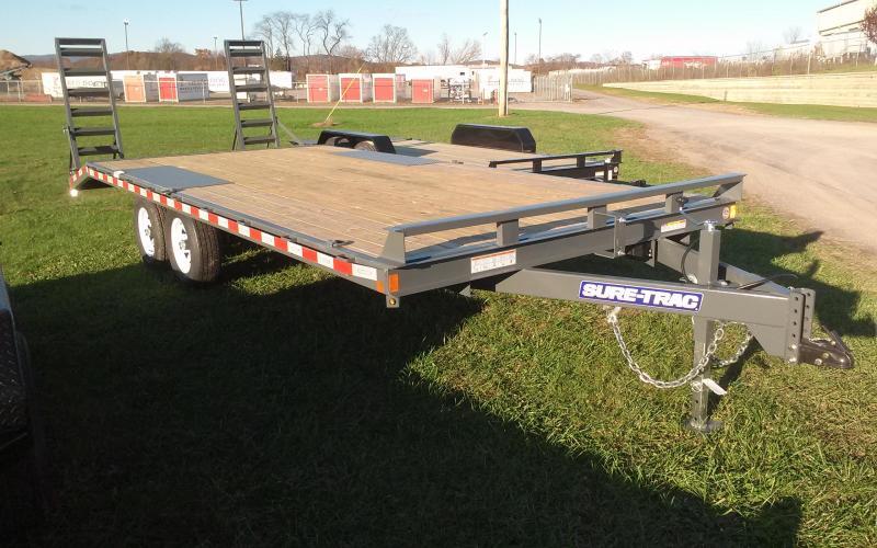 2018 Sure-Trac 17+3 10K Deckover Equipment Trailer
