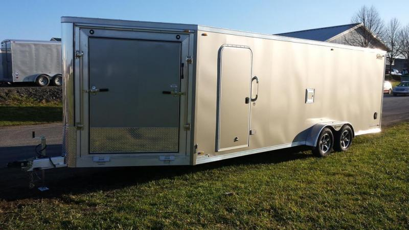2016 Legend Manufacturing 7x27 Trailmaster Snowmobile Trailer