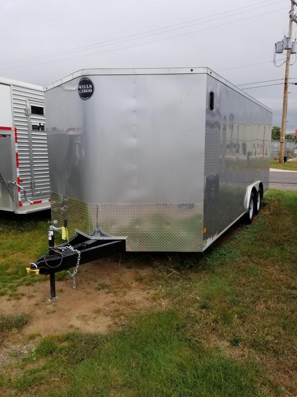 2018 Wells Cargo Fast Trac 8.5x18 7K Enclosed Cargo Trailer