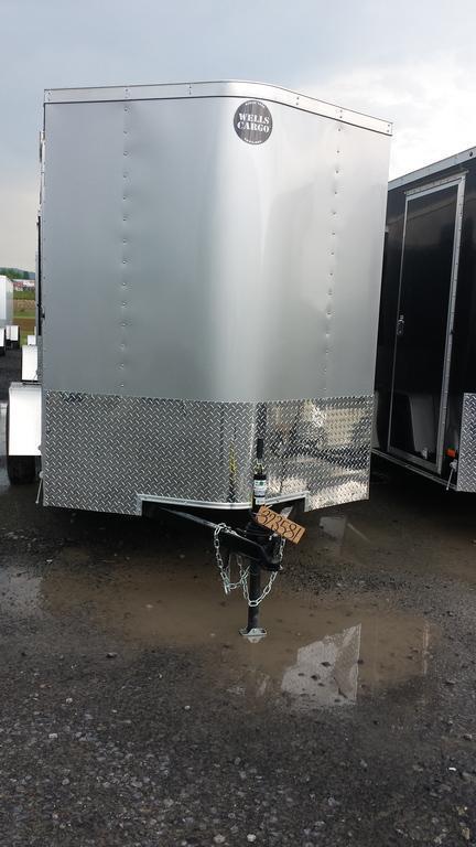 2017 Wells Cargo 6x12 Fast Trac Enclosed Cargo Trailer