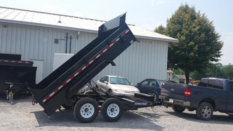 2018 Sure-Trac 7x12 12K Low Profile Dump Trailer
