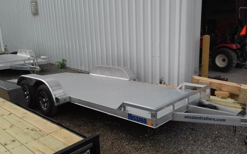 2018 Mission MOCH 8x18 7K Car / Racing Trailer