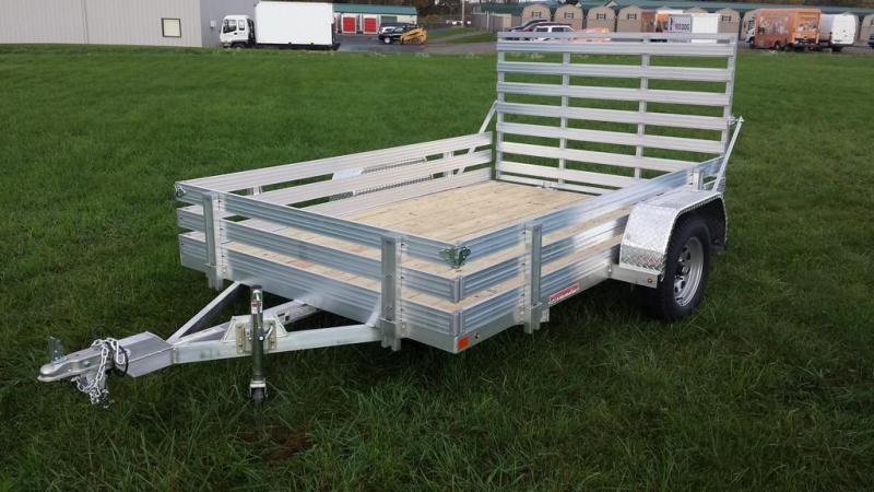 2017 Worthington 6-5x10 aluminum open side