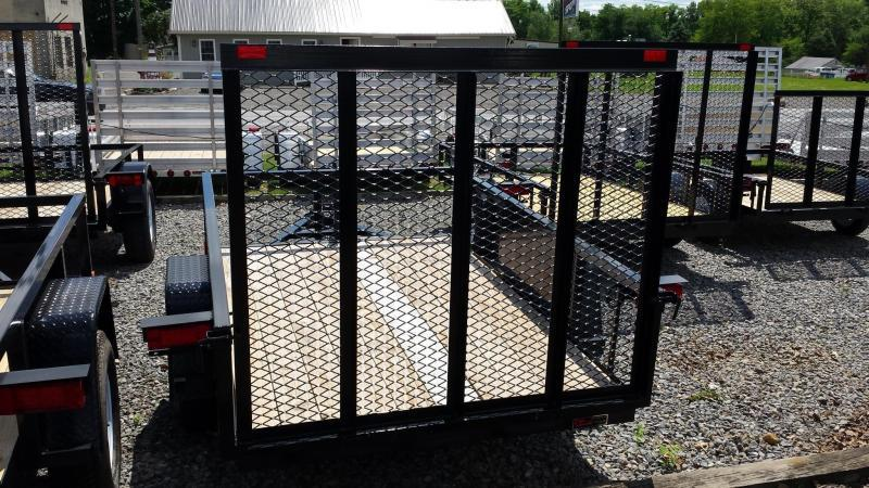 2017 Holmes 5x8 Commercial Open Rail Utility Trailer