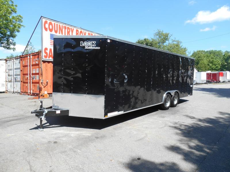 Used 8.5'x26' Enclosed Cargo Trailer