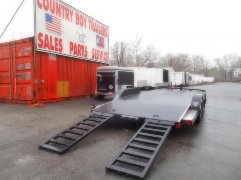 20X83 Car Hauler/Steel Floor (18' Avail.)