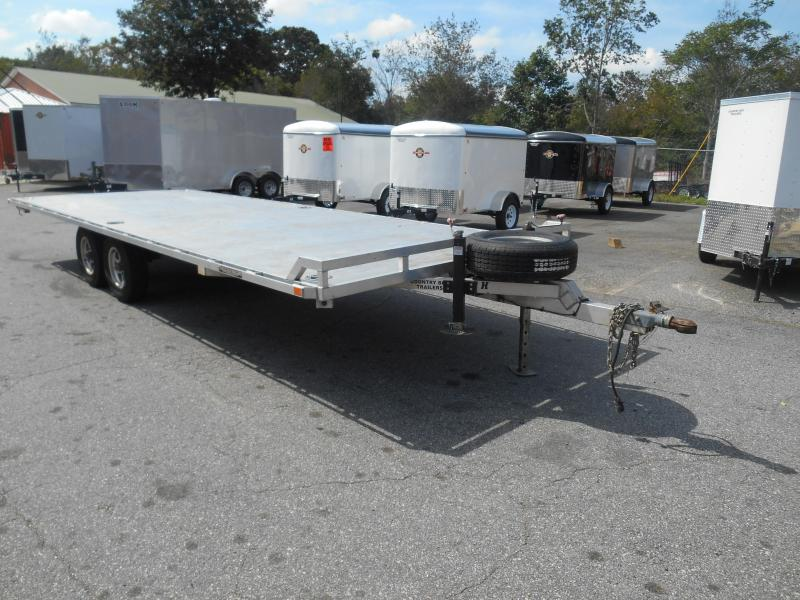 2013 Aluma 1022H Equipment Trailer