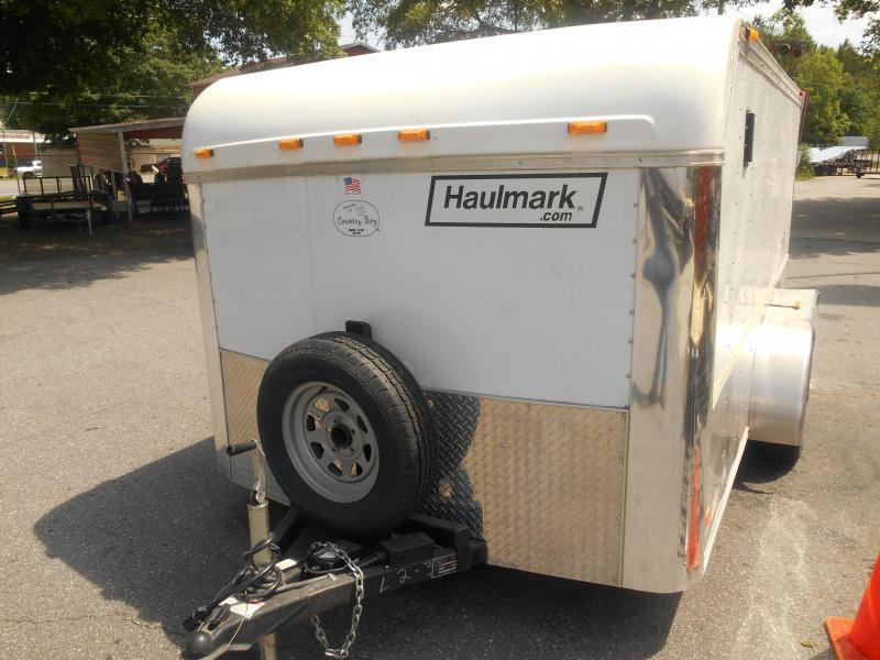 2004 Haulmark LH7X12WT2 Motorcycle Trailer