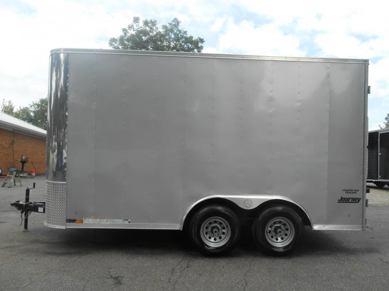 2016 Pace American Journey 7 Wide Tandem Cargo / Enclosed Trailer