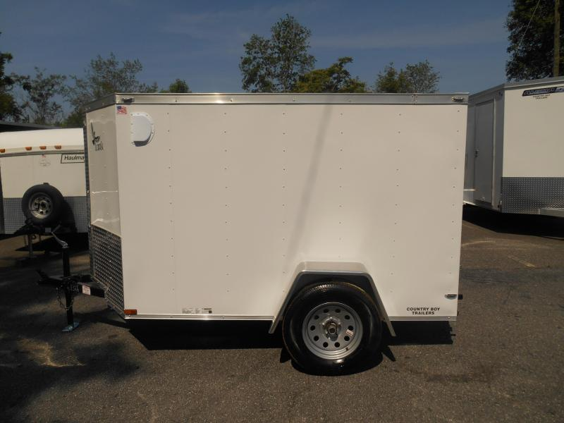 5x8 Lark Enclosed Trailer