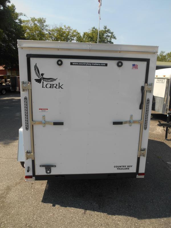 5x8 Lark Enclosed Trailer