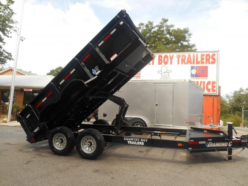2019 Diamond C Trailers LPD207 14X82 Dump Trailer