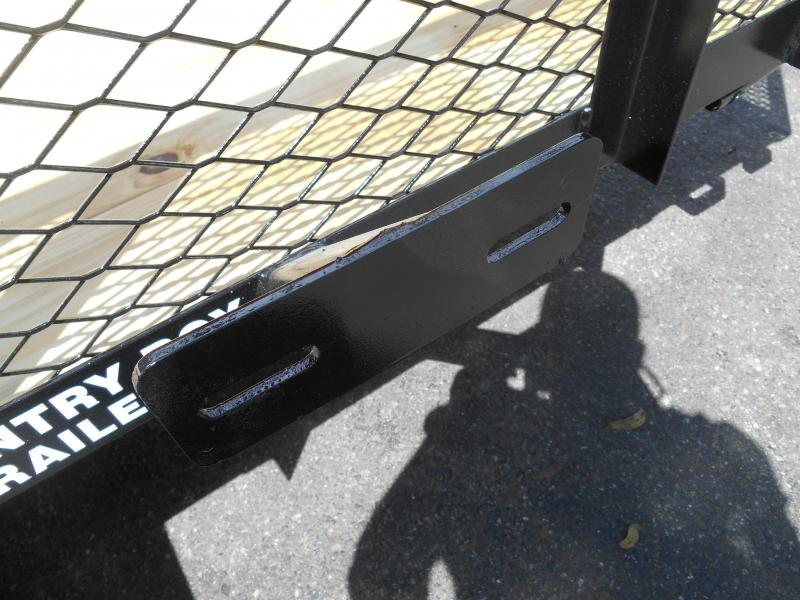 5X10 1-3500 LB Axle   Wire Mesh Sides
