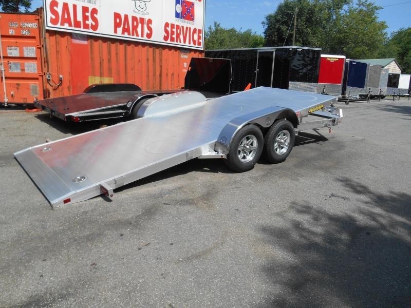 "8220H TILT Car Hauler  (6'10""x20' Bed Tilted) 2-5200# Aluma"