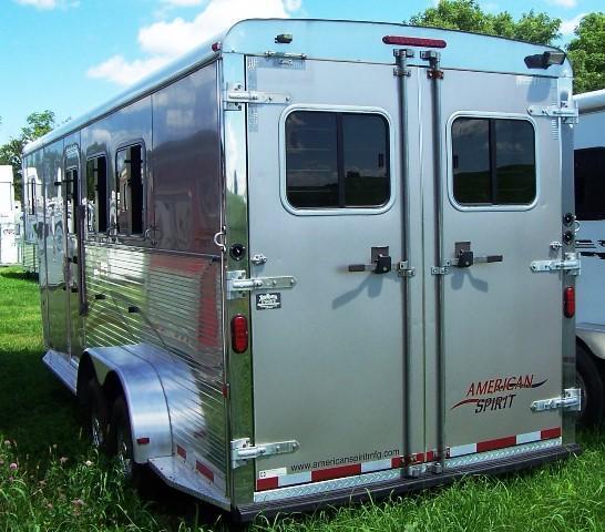 2008 American Spirit Slant Horse Trailer