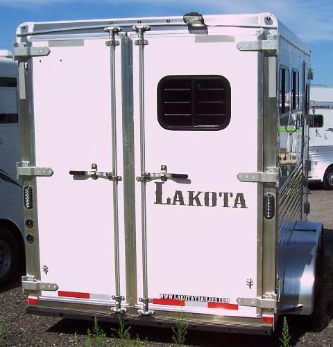 2018 Lakota Trailers Charger 2-Horse BP Horse Trailer