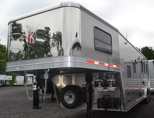 2016 Kiefer Built Genesis 8103 Horse Trailer