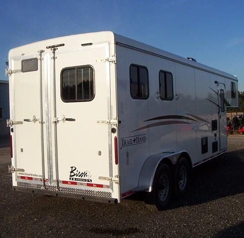 2018 Bison Trailers Trail Hand 7207 Horse Trailer