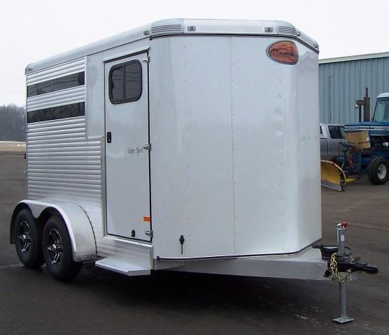 2015 Sundowner Trailers Super Sport 2-H Slant Horse Trailer