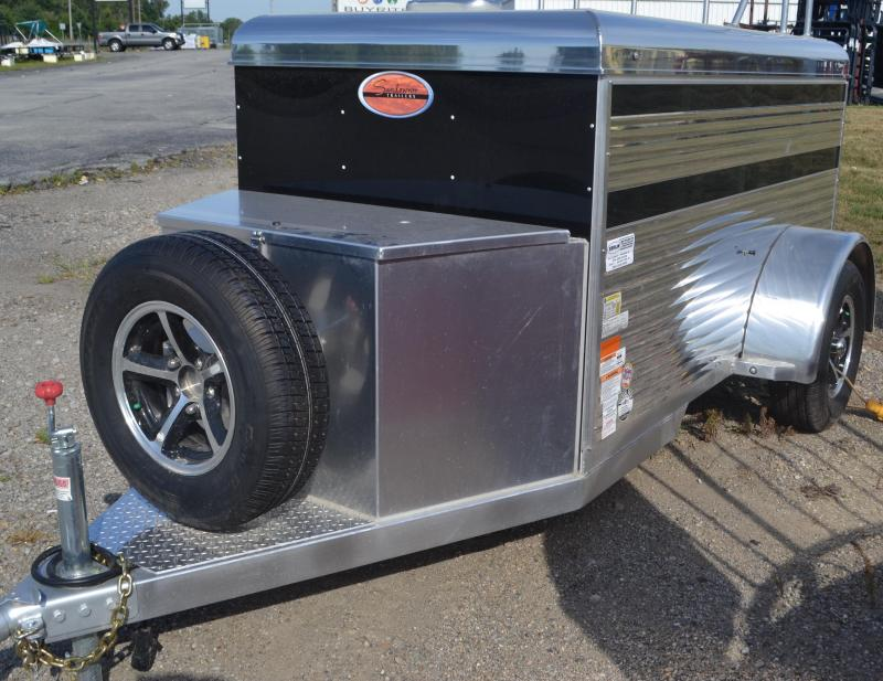 2017 Sundowner Trailers MS76BP Mini Livestock Trailer