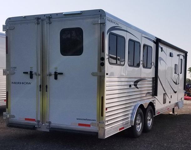 2018 Merhow Trailers Next Generation Alumastar 8311 Horse Trailer