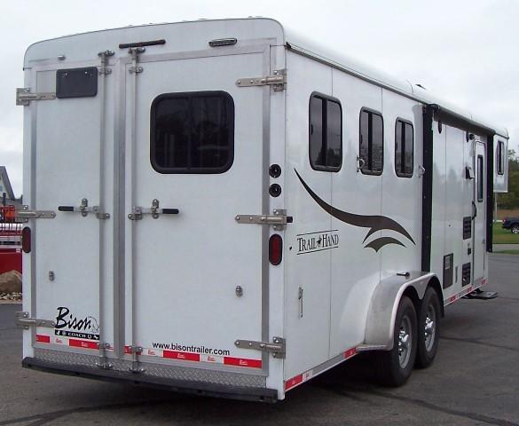 2016 Bison Trailers 380 Trail Hand Horse Trailer
