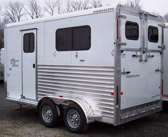 2017 Merhow Trailers Alumastar Warmblood Horse Trailer