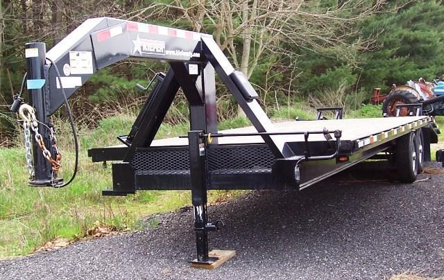 2012 Kiefer Built 1000E Flatbed Trailer