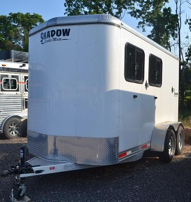 2014 Shadow Trailers 613STK-2SL-B Horse Trailer