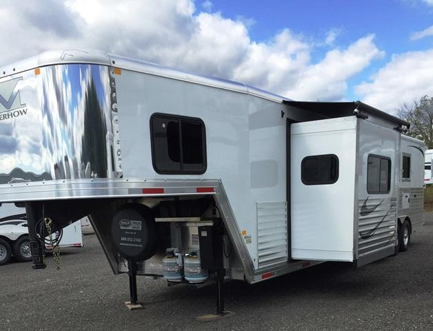 2018 Merhow Trailers Next Generation Alumastar 8316 Horse Trailer