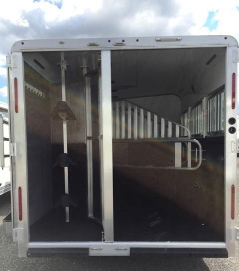 2018 Merhow Trailers Next Generation Alumastar 8316 Horse Trailer
