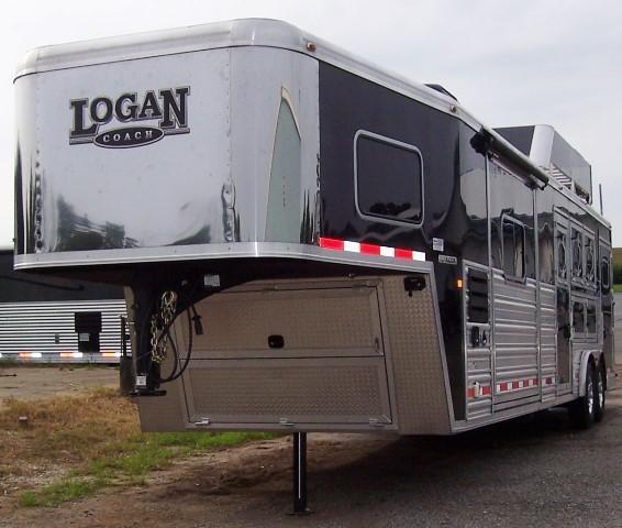 2015 Logan Coach Razor 812 w/Diesel Generator Horse Trailer