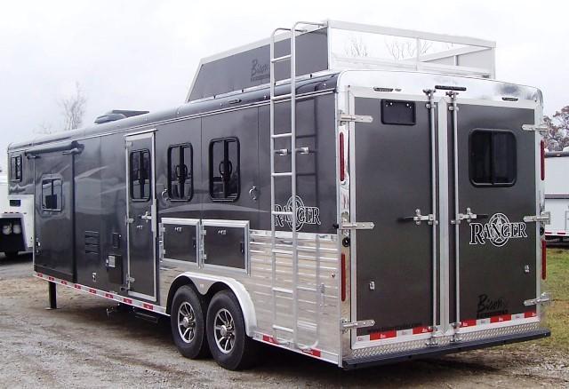 2018 Bison Trailers 8313 Ranger Horse Trailer
