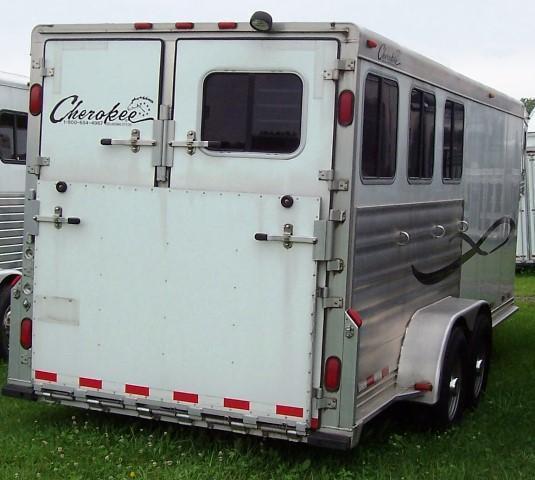 2006 Cherokee Trailers Weekender Horse Trailer