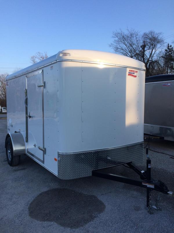 2018 American Hauler Industries Air Lite 6 x 12 Enclosed Cargo Trailer