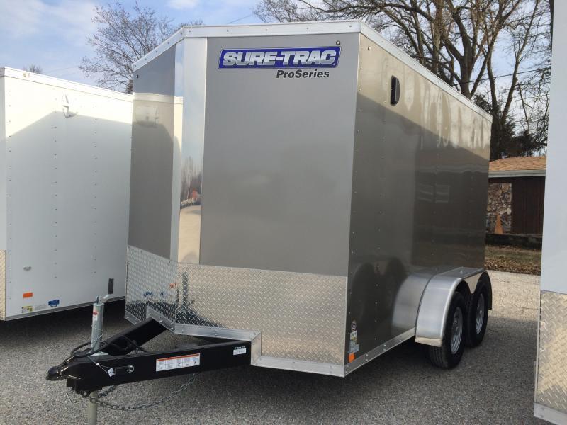 2018 Sure-Trac 7 x 12 Pro Series Wedge Cargo TA 7K