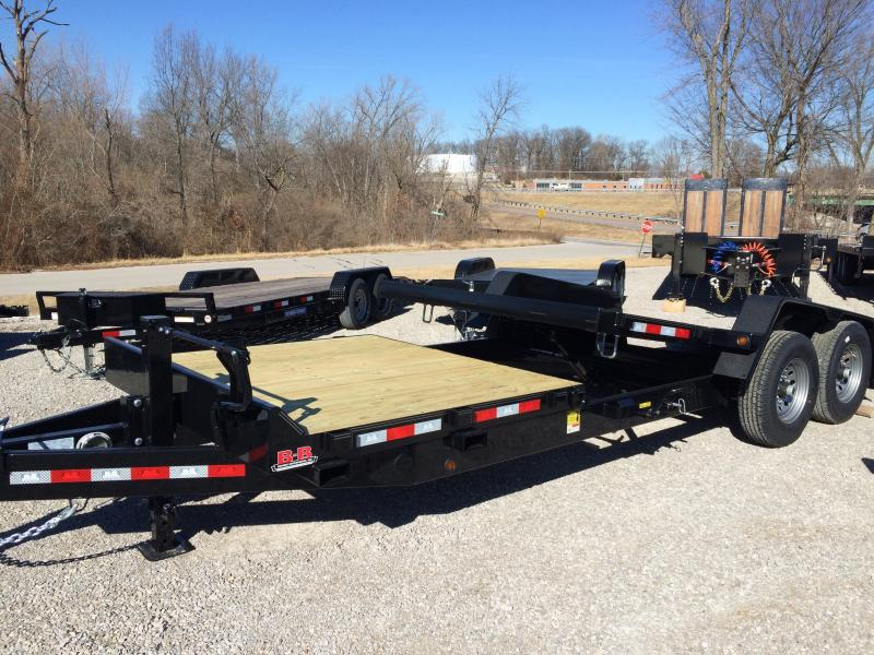 2018 B-B Tilt Equipment Trailer