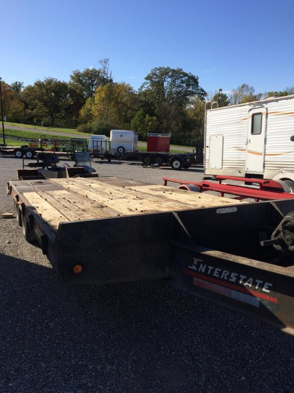 2002 Interstate 20DT Equipment Trailer