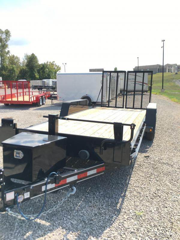 2017 B-B 83 x 20 Equipment Trailer