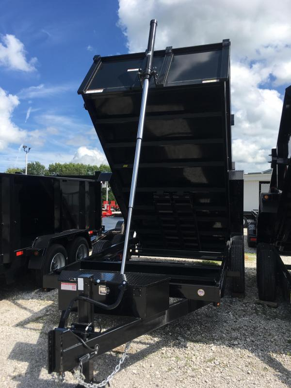 2017 Sure-Trac 82x14 Telescopic Dump Trailer
