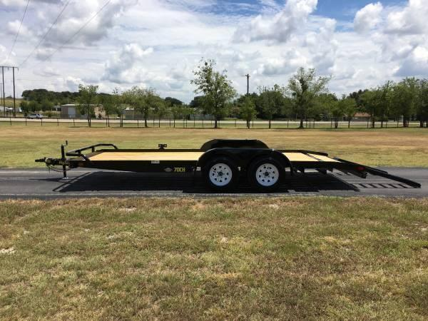 Car Haulers Champion Trailers Flatbed Dump And Equipment