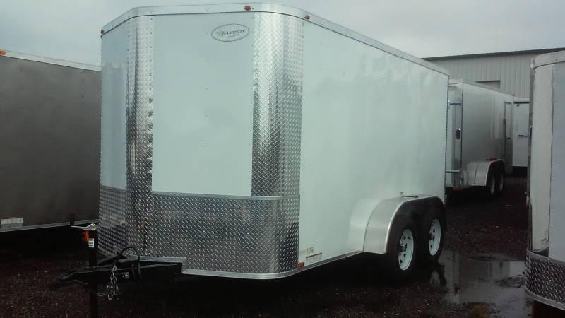7x12x6 Arising Enclosed Trailer