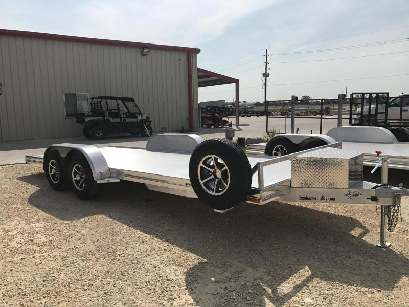 2018 Sundowner Trailers 4000AP-20 Car / Racing Trailer