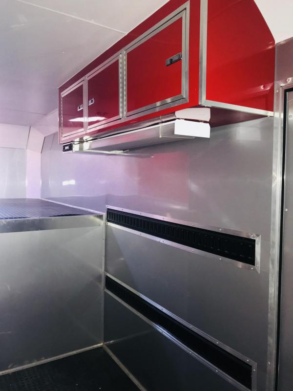 Trailers Recaing Metal With Kitchen Cabinets on